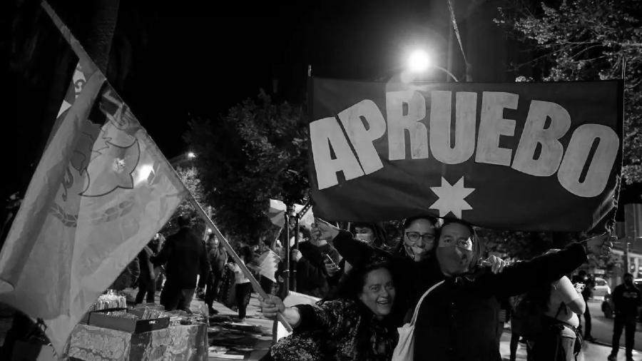 Chile-plebiscito-apruebo-festejos-la-tinta